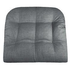 RAVE GRAPHITE GREY INDOOR / OUTDOOR DINING CHAIR PADS & PATIO CUSHIONS save with coupon #Sale #July4th #Grey