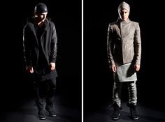 Skingraft Fall/Winter 2012. Like the look on the right.