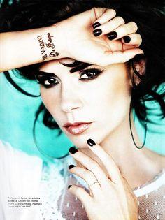 Victoria Beckham,  Vogue 2010