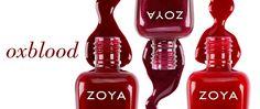 zoya oxblood nail ppolish
