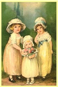 "A Happy Easter My wishes are many, but words are few that could import them all to you; ""May your Easter be, as happy and glad as I wish it thee. Vintage Greeting Cards, Vintage Postcards, Vintage Images, Fete Pascal, Easter Art, Vintage Easter, Illustrations, Poster, Vintage Children"