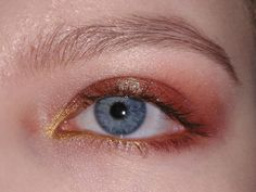 Duochrome Eyeshadow look EOTD #makeup #beauty