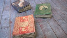 Miniature Fairy Tale Books. $8.50, via Etsy. ~ So cute.