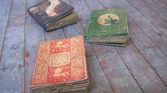 Miniature Fairy Tale Books... 8.50, via Etsy.