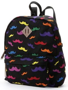 Candie's Mustaches Backpack
