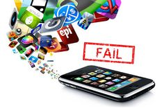 Know here Why mobile apps fails? Top reasons for a mobile app failure