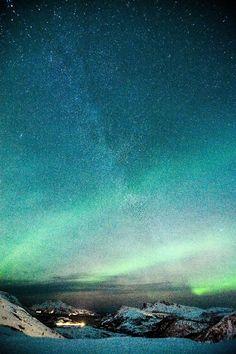 Aurora & The Milky Way -Wasilla, Alaska