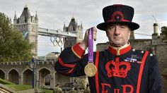 London 2012 medals handed over to the Tower of London