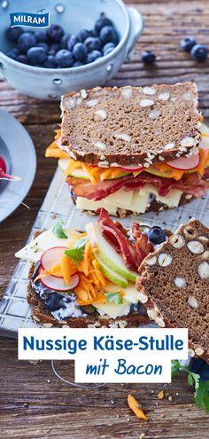 Ich wollt euren Liebsten mal wieder eine Freude machen? Vielleicht zum Valentinstag oder einfach nur so? Da is' doch eine ordentliche Käse-Stulle genau das Richtige. Vollbepackt mit Allem was das das Herz begehrt, treffen bei diesem Rezept Gegensätze aufeinander: Knuspriger Bacon auf Radieschen und Birne mit körnigem Frischkäse. Lecker!