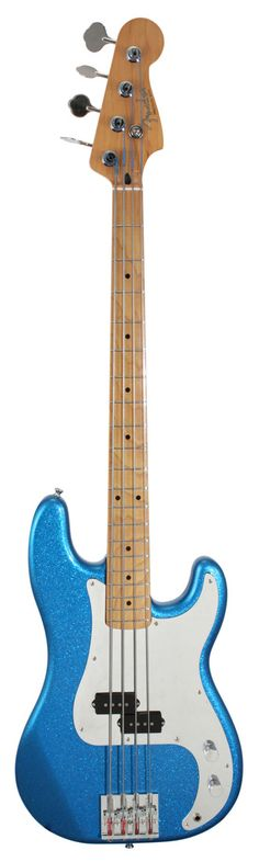 Fender Steve Harris Precision Electric Bass Guitar Royal Blue Metallic | Rainbow Guitars