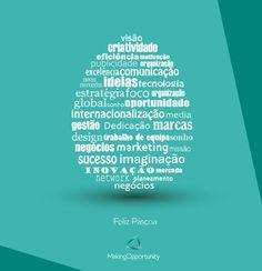 Happy Easter! Feliz Páscoa!  www.makingopportunity.eu