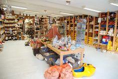 Mooi overzicht van de winkel 2014