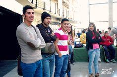 Actividad deportiva recreativa para alumnos de Duoc UC Hall Central, Sede Puente Alto.