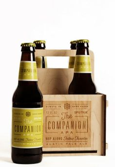 The Companion Austin Pale Ale on Packaging of the World - Creative Package Design Gallery