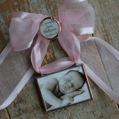 one of my favorite ornaments...new baby...or baby's first christmas...so sweet!