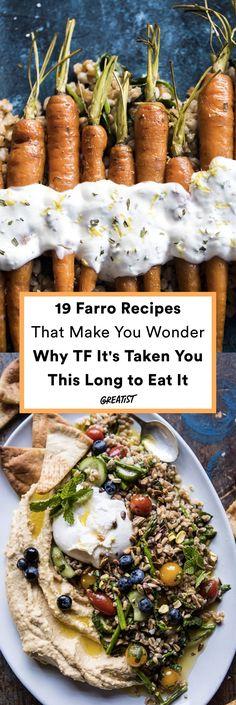 It's the fiber-rich grain you've been ignoring for no reason. #greatist https://greatist.com/eat/farro-recipes