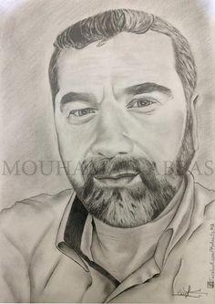 Wassef Majzoub #portraits #drowing #art #pencil #arts