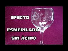 DIY EFECTO ESMERILADO SIN ÁCIDO, DIY GRINDING EFFECT WITHOUT ACID