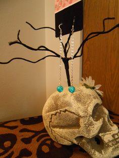 'Janets' Blue Earrings
