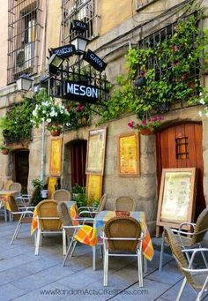El mesón Rincón de la Cava -- Plaza Mayor in Madrid, Spain