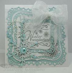Heartfelt Creations | Snowflake Swirl Wonderland