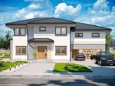 DOM.PL™ - Projekt domu ARP EMILIAN CE - DOM AP2-13 - gotowy koszt budowy Classic House Exterior, Modern Small House Design, Design Case, Home Fashion, Houses, Mansions, House Styles, Home Decor, Cottage