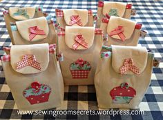 Gift bag template can be found here