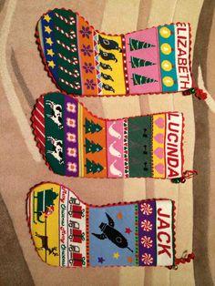 Cool Needlepoint Christmas Stockings
