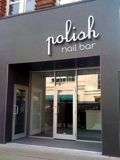 Nail Salon Design, Nail Salon Decor, Beauty Salon Decor, Schönheitssalon Design, Store Design, Design Shop, Design Ideas, Modern Design, Beauty Salon Interior