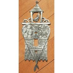 Art Nouveau Illustration Metal Switch Light Cover double plate #14