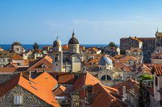 rooftop views in Dubrovnik, things to do in Croatia
