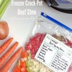 Crock-Pot Freezer Beef Stew