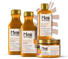 Maui Moisture Curl Quench!!!!! For us Natural Curly Hair Girls :)