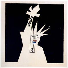 book cover by Saul Bass Saul Bass, Illustrations, Children's Book Illustration, Art Design, Book Design, Pop Art, Art Students League, Famous Words, Mid Century Design
