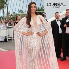 Deepika Padukone First Red Carpet Cannes 2018