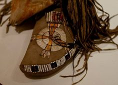 Sioux mocs, early 19th century. Nat. Must. Denmark. ac