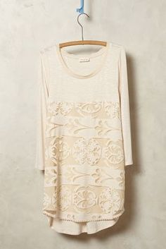 #anthrofave Meadow Rue Capriccio Lace Tunic