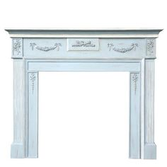 French Blue Fire Surround. Achica