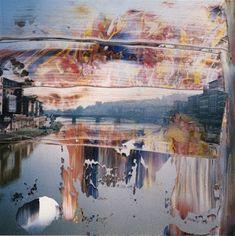 Alone Together - pricebullington: Gerhard Richter Landscape Art, Landscape Paintings, Landscapes, Painting Inspiration, Art Inspo, Gerhard Richter Painting, Modern Art, Contemporary Art, Ecole Art