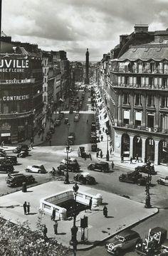 Paris...En flanant - Rue de la Paix, Colonne Vendôme et accès du Métro Opéra