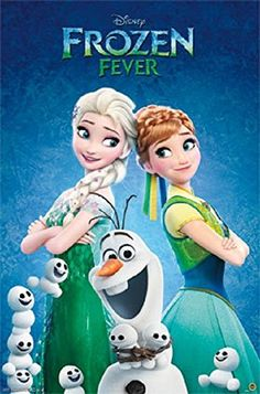 [ad Walt Disney have released a new poster for their Frozen Fever short film. Frozen Directors' Chris Buck andJennifer Lee give a behind the scenes look at the film and talk about… Frozen Disney, Frozen Film, Elsa Frozen, Disney Love, Disney Magic, Frozen Short, Anna Disney, Frozen 2013, Disney E Dreamworks
