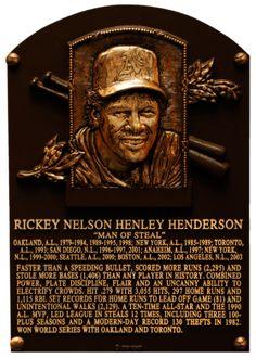 Rickey Henderson, Baseball Hall of Fame Baseball Records, Baseball Live, Pro Baseball, Baseball Equipment, Baseball Games, Baseball Jerseys, Baseball Display, Baseball Tickets, Baseball Wall