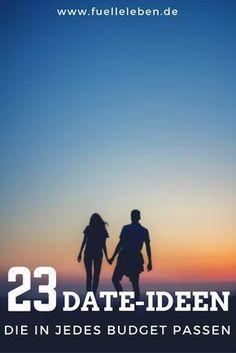 Diese 23 Ideen passen garantiert auch in das knappste Monatsbudget! Denn wenn eines nie ausfallen sollte, dann die wöchentliche Date-Night für Dich und Deinen Partner!