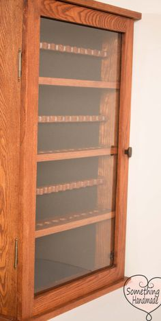pipe display cabinet solid oak with door holds 39 by klwilmes
