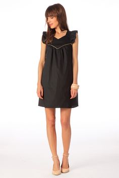 Robe Coco Noir Clo by MonShowroom sur MonShowroom.com