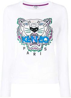 cd2333649c0d Girls Navy Blue Tiger Logo Sweatshirt (Mini-Me) in 2019   Products ...