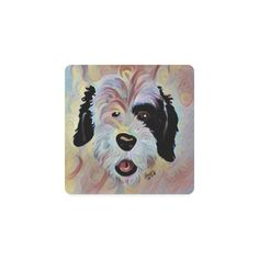 pup1 Square Coasters