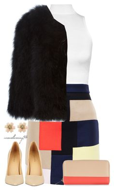 """""""Patchwork Meets Scream Queens"""" by avonsblessing94 ❤ liked on Polyvore featuring WearAll, MSGM, Givenchy, Nine West and Accessorize"""