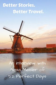WSGT's next Travel Influencer is Alexa Meisler of 52 Perfect Days which aims to inspire others to travel through great story-telling.