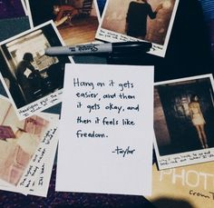 I love Taylor Swift Taylor Lyrics, Taylor Swift Quotes, Taylor Alison Swift, Taylor Swift Tumblr, Live Taylor, Taylor Swift Songs, The Words, Quotes To Live By, Life Quotes